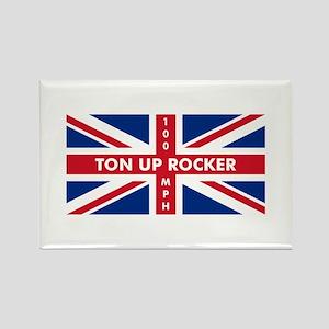 Ton Up Jack Rectangle Magnet
