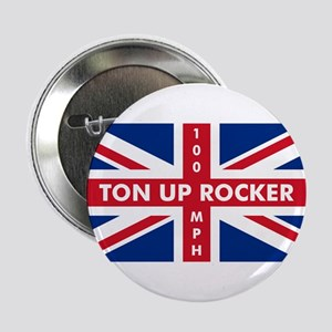 "Ton Up Jack 2.25"" Button"