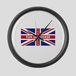 Ton Up Jack Large Wall Clock