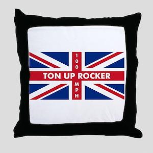 Ton Up Jack Throw Pillow