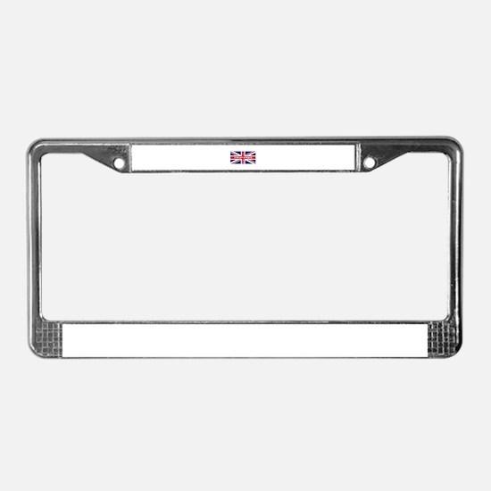 Ton Up Jack License Plate Frame