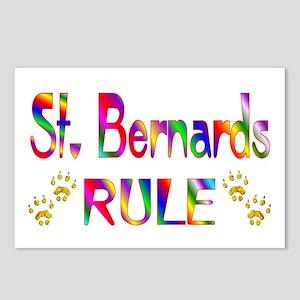 St. Bernard Postcards (Package of 8)
