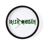 Irish Maiden Wall Clock