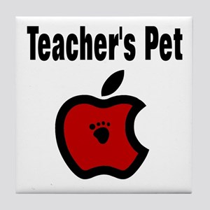Teachers Pet Tile Coaster