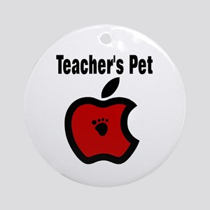 Teachers Pet Ornament (Round)