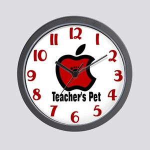 Teachers Pet Wall Clock