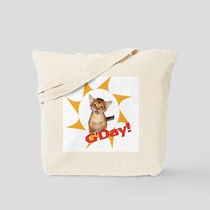 G'day kitten tote bag