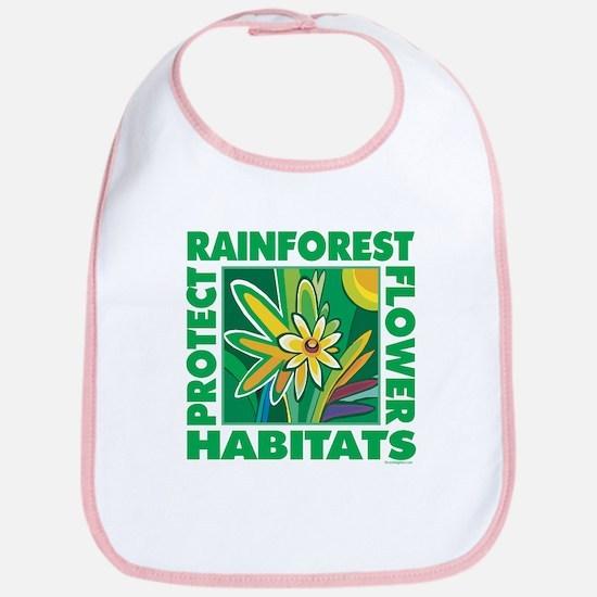Protect the Rainforest Bib