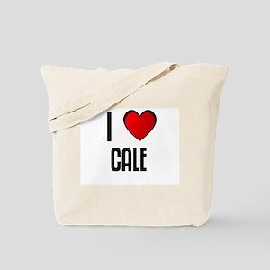 I LOVE CALE Tote Bag