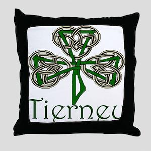 Tierney Shamrock Throw Pillow