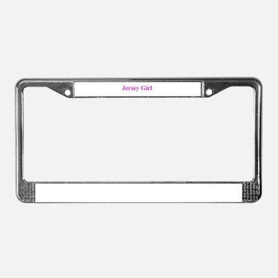 JERSEY GIRL 401 License Plate Frame