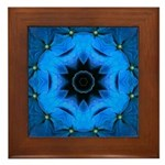 Hydrangea I Framed Tile