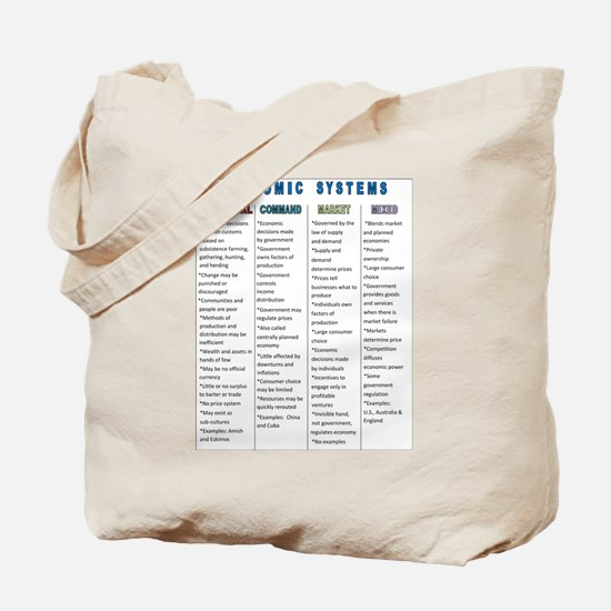 Economic Systems Tote Bag