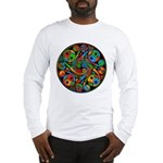 Celtic Stained Glass Spiral Long Sleeve T-Shirt
