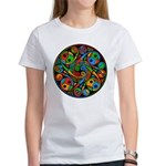 Celtic Stained Glass Spiral Women's T-Shirt