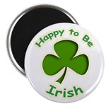 "Happy to Be Irish 2.25"" Magnet (10 pack)"