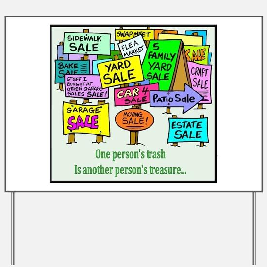 Yard Sales Yard Sign