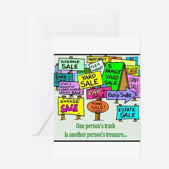 Yard Sales Greeting Card