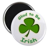 "Glad to Be Irish 2.25"" Magnet (10 pack)"
