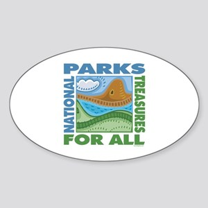 National Parks Oval Sticker