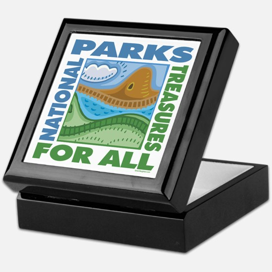 National Parks Keepsake Box