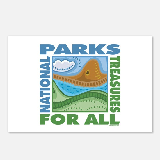 National Parks Postcards (Package of 8)