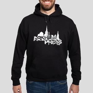 Arkham Press Grunge Hoodie (dark)