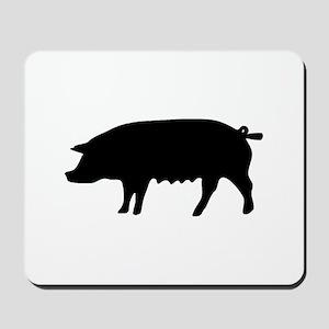 pig fluke Mousepad