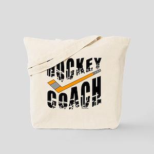 Hockey Coach Tote Bag