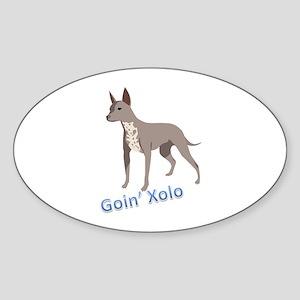 Goin' Xolo - Oval Sticker