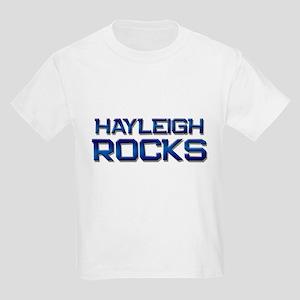 hayleigh rocks Kids Light T-Shirt