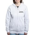 Women's Zip Sweatshirt Colour Guard Black