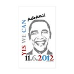 Yes We Can Again! Bumper Sticker (10 Pk)