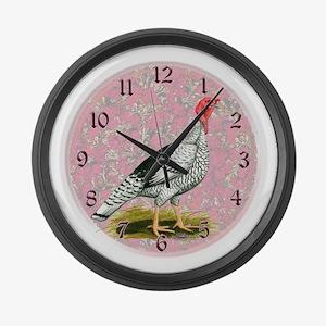 Royal Palm Turkey Large Wall Clock