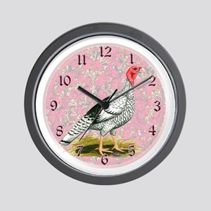 Royal Palm Turkey Wall Clock