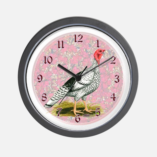 Royal Palm Turkey Wall Clock
