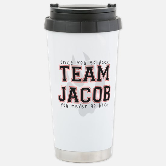 Team Jacob Stainless Steel Travel Mug