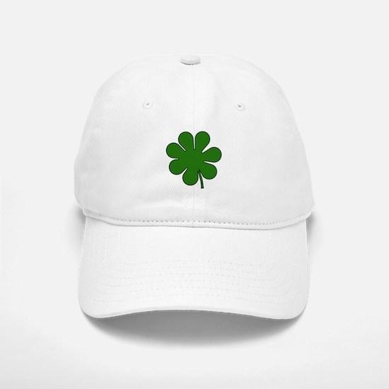 Seven Leaf Clover Baseball Baseball Cap