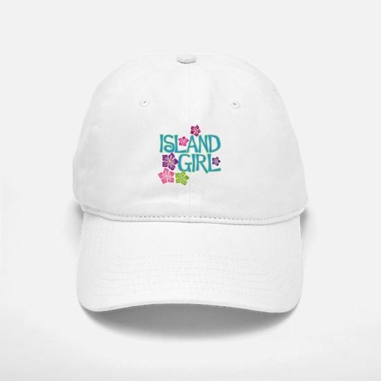 ISLAND GIRL Baseball Baseball Cap