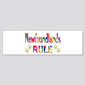 Newfoundland Bumper Sticker