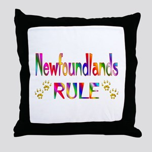Newfoundland Throw Pillow