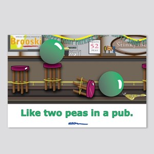 in a pub Postcards (Package of 8)