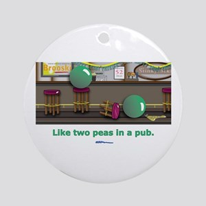 in a pub Ornament (Round)