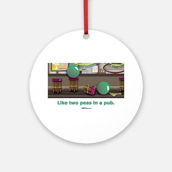 in a pub Ornament (Round)