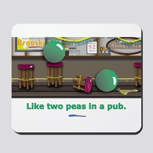 in a pub Mousepad