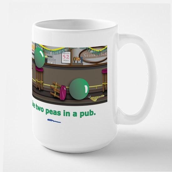 in a pub Large Mug