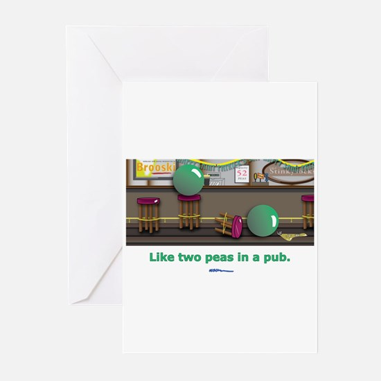 in a pub Greeting Cards (Pk of 10)