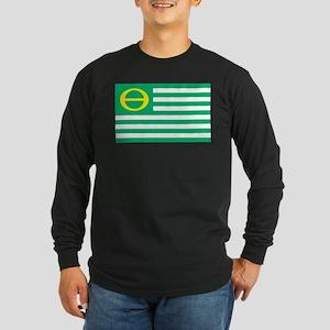 Ecology Flag Long Sleeve Dark T-Shirt