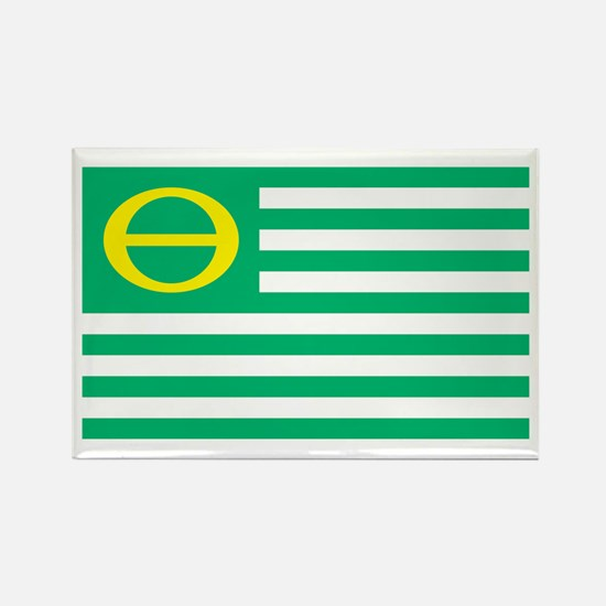 Ecology Flag Rectangle Magnet (100 pack)