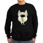 Big Nose Frenchie Sweatshirt (dark)
